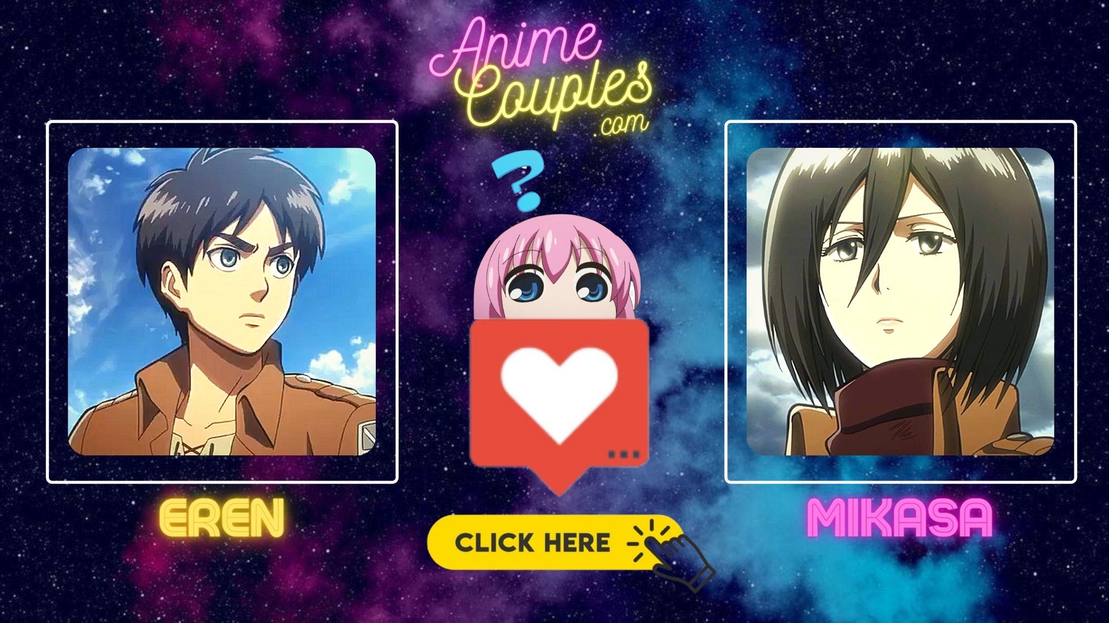 Eren x Mikasa - Attack on Titan couples