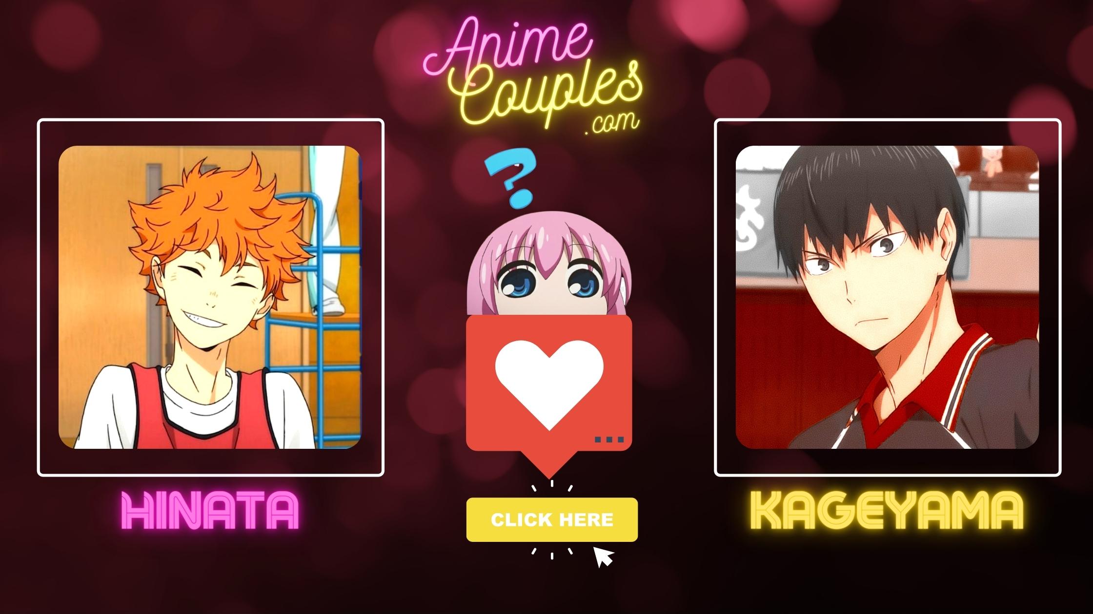Hinata and Kageyama - Haikyuu Couple