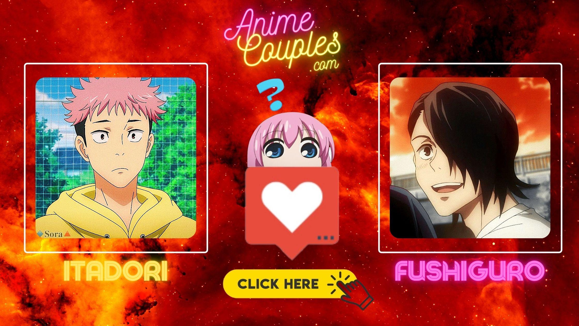Itadori and Junpei - Jujutsu Kaisen couples
