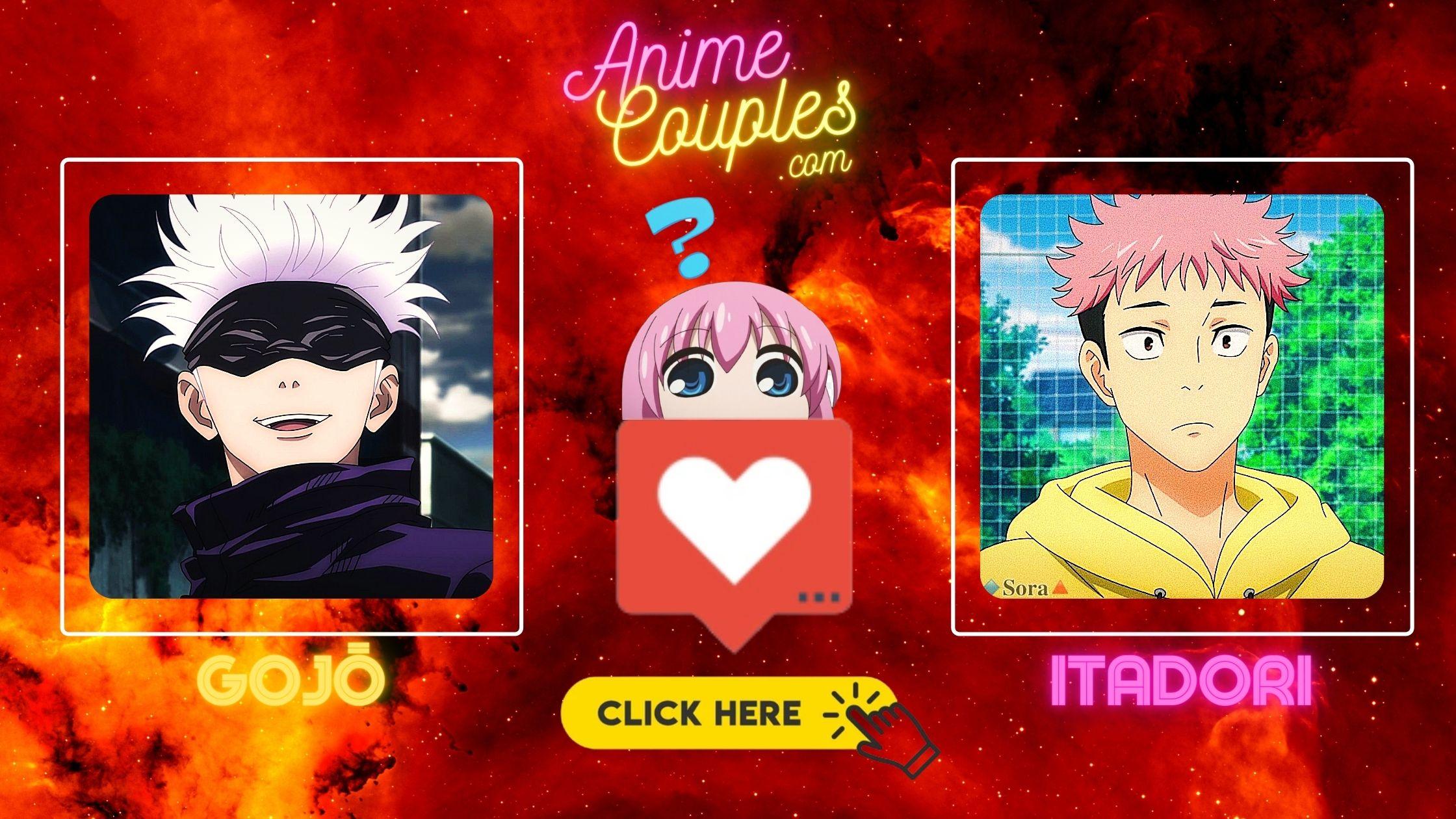 Gojo and Itadori - The Jujutsu Kaisen couples