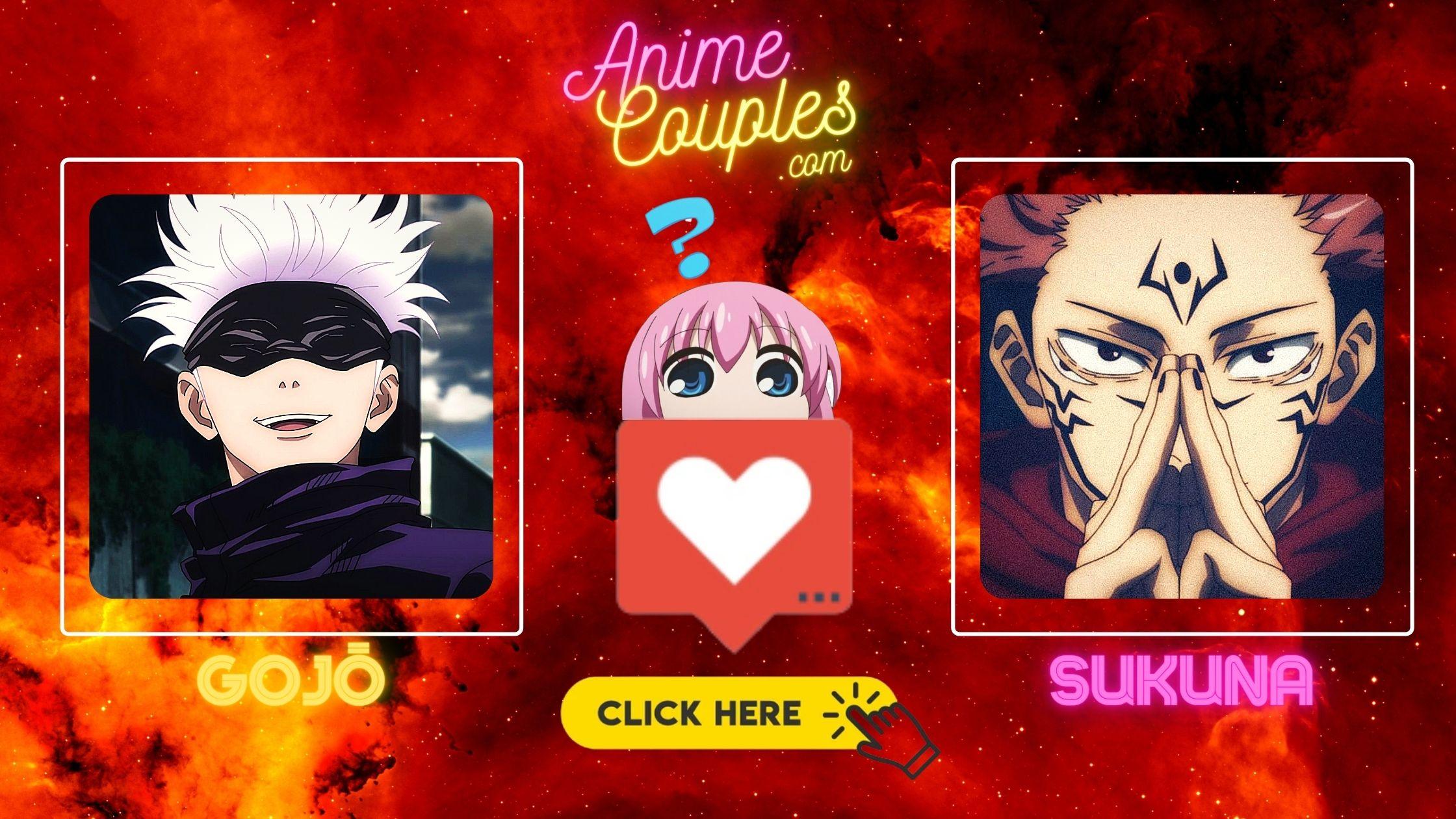 Gojo vs Sukuna - The Jujutsu Kaisen couples